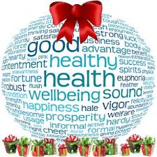 Happy healthy Christmas